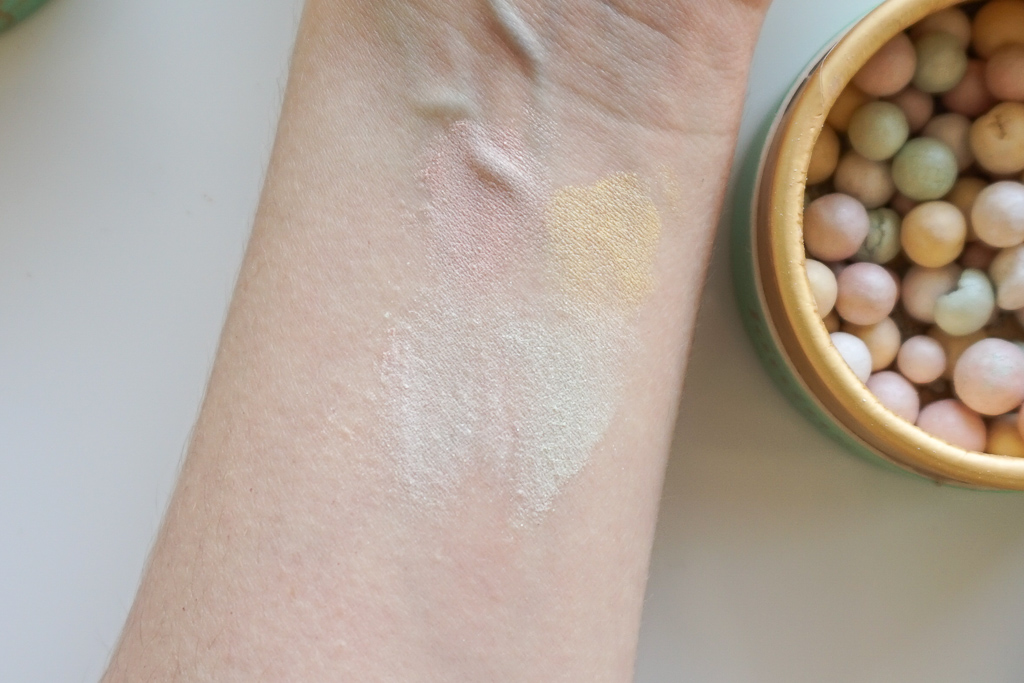 Dermacol Toning Beauty Pearls swatches recenzia