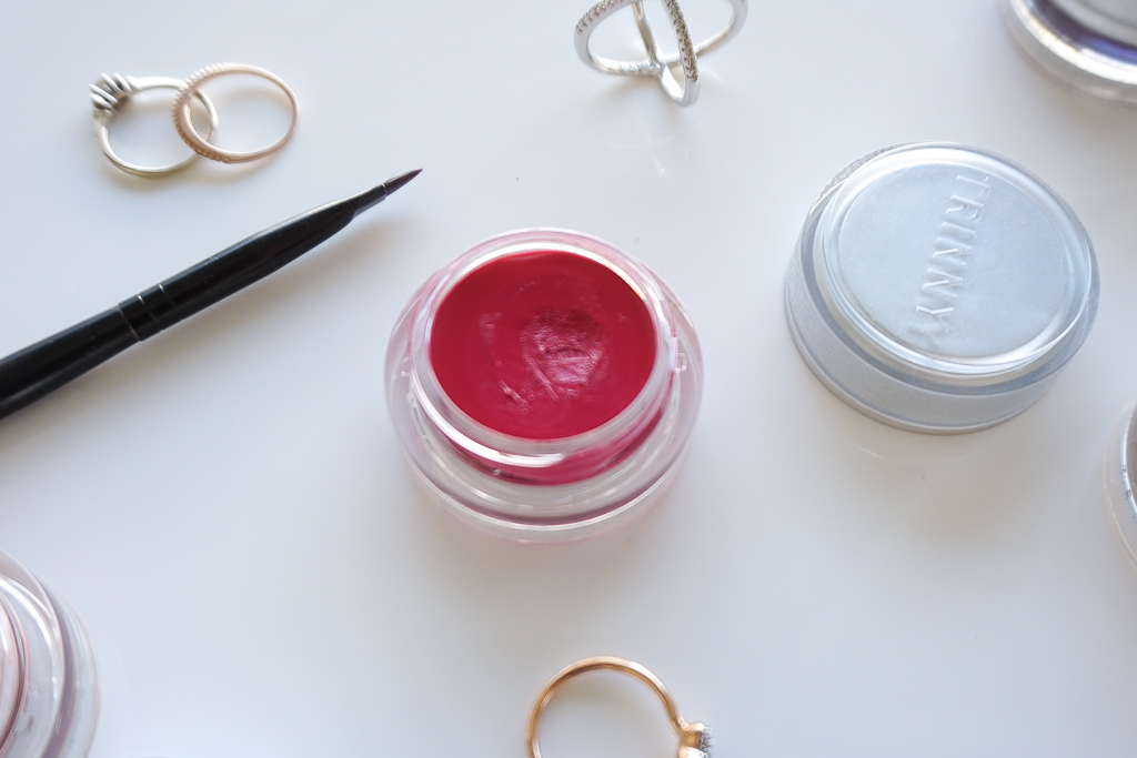 Trinny London Lip Luxe Pookie recenzia review swatches