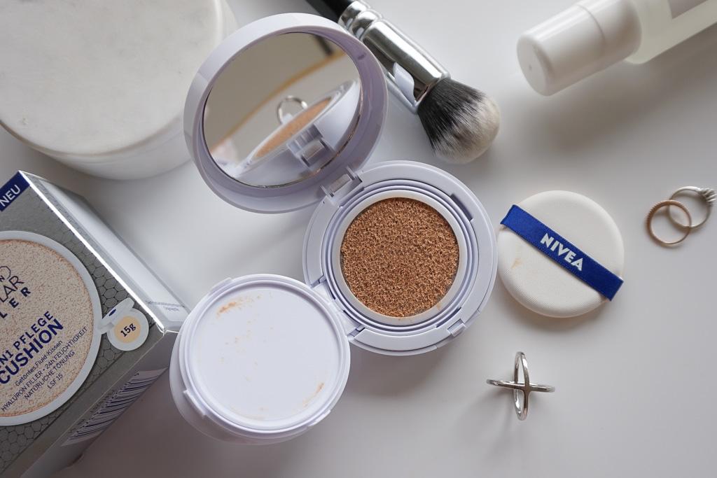 Nivea Hyaluron Cellular Filler Cushion Make-Up review recenzia