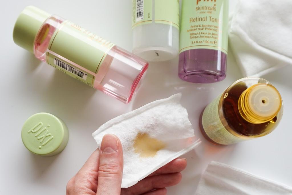 pixi rose milky retinol vitamin-c tonic review recenzia