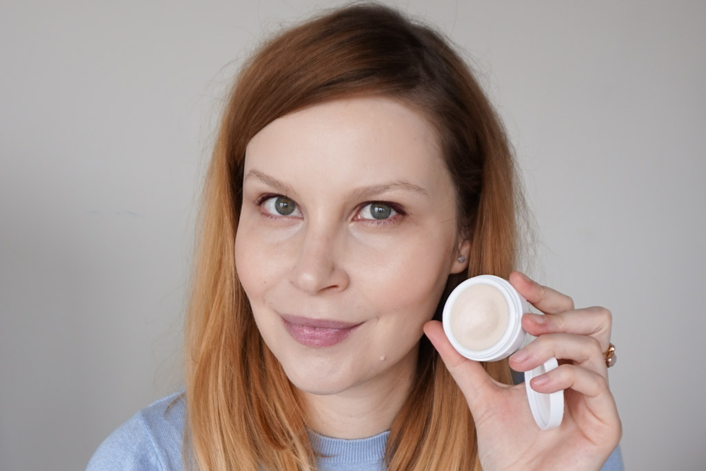 Oskia Cupid's Bow Lip Balm recenzia review swatches